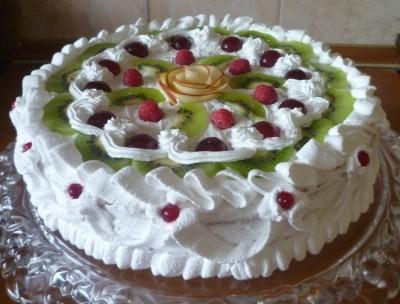 Рецепты тортов со взбитыми сливками фото