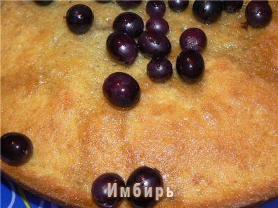 Пирог с виноградом простой рецепт