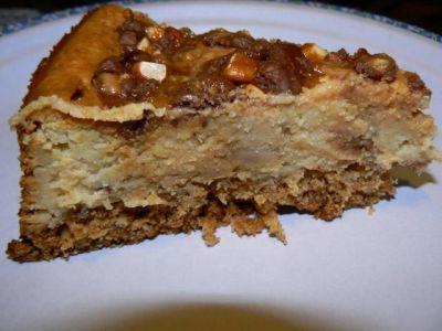 Карамельный чизкейк – кулинарный рецепт