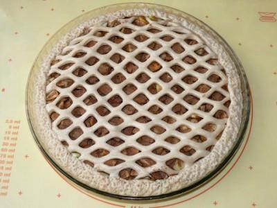 как сделать плетенку из теста на пирог