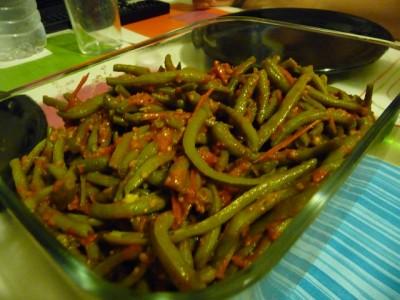 Блюда из зеленой стручковой фасоли рецепт