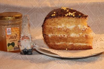 медовик в мультиварке редмонд рецепты с фото
