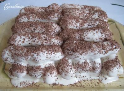 Тирамису дамские пальчики торт