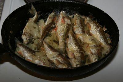 Inevitable речной рыбы из Блюда way