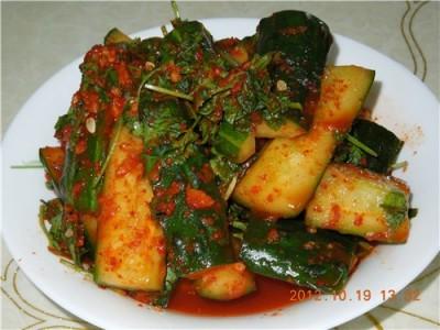 корейский салат из огурцов рецепт