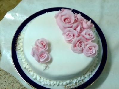 Научиться печь торты с мастикой в домашних условиях