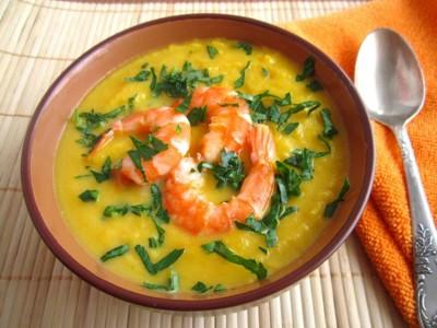 Самый вкусный тыквенный суп пюре