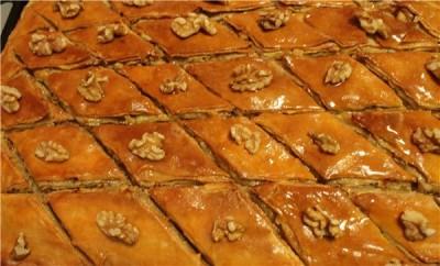 пахлава рецепт с фото армянская