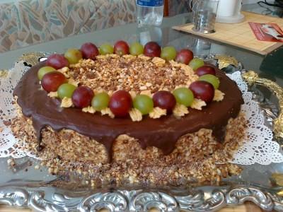 Украшаем торт наполеон своими руками