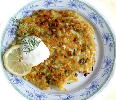 завтрак из белокочанной капусты