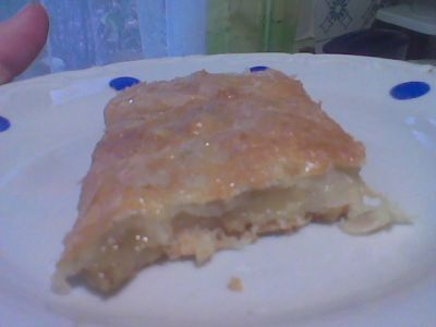 рецепты выпечки с яблоками тесто слоеное дрожжевое