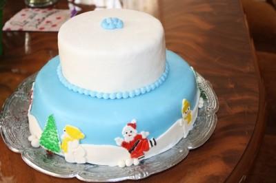Торт слива фото 5