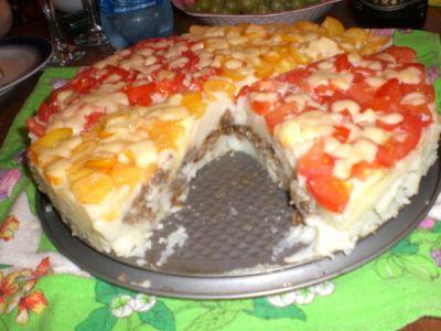 Торт-запеканка картофельная