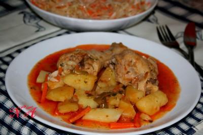 как приготовить вкусный соус с курицей