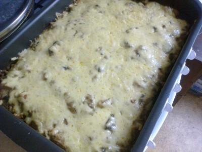 рецепт жульен с картошкой и грибами в духовке