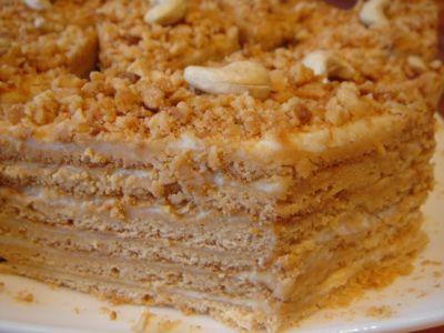 Медовый торт домашний рецепт