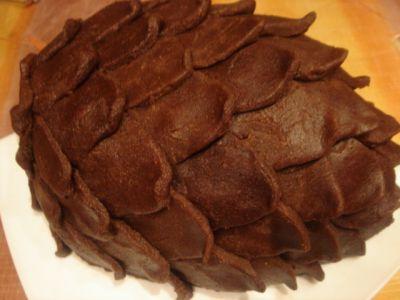 Торт кедровая шишка торты