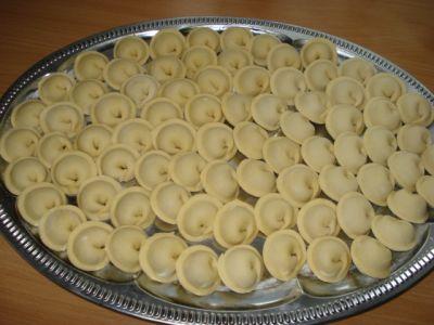 Блюда из пельменного теста