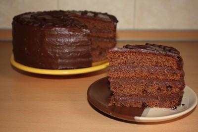 торт празький рецепт