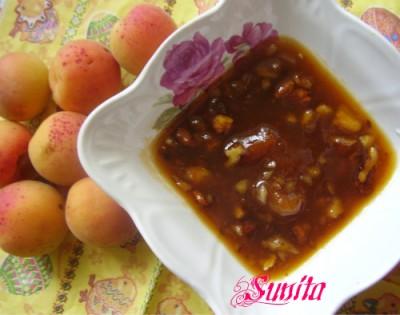 Рецепты абрикосового варенья с грецкими орехами