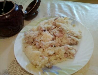каша с курицей в горшочках в духовке рецепты