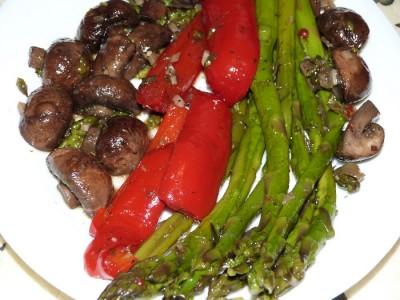 запеченные овощи в духовке на гриле рецепты