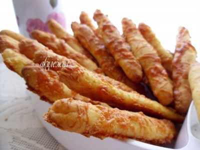 рецепт сырных палочек на дрожжах