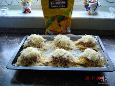 Блюда из чипсов рецепт