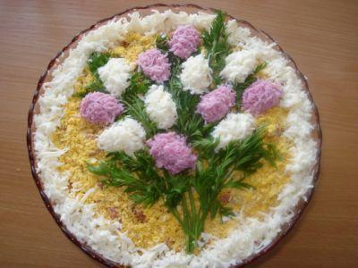 салат звезда рецепт: простой салат из редьки, год...