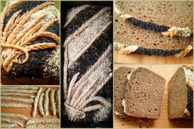Украшаем хлеб : Хлеб, батоны, багеты, чиабатта 92