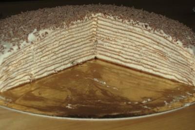 Тонкие коржи для торта рецепт