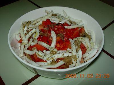 Салат из сушеных кальмаров рецепты с
