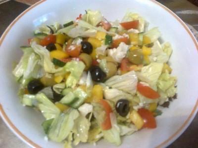 вкусный салат с мясом криля рецепт с фото