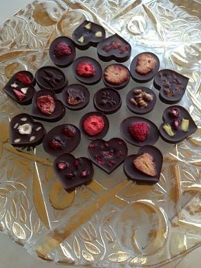 Шоколадные конфеты из какао-масла