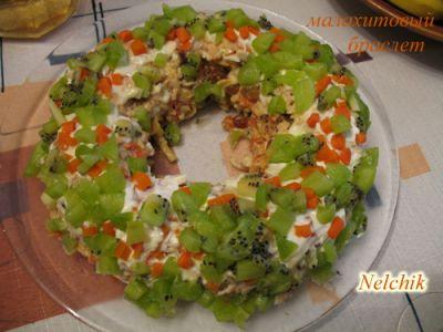 оригинальные салаты на день рождения ребенку: рецепт салата лисичкина...