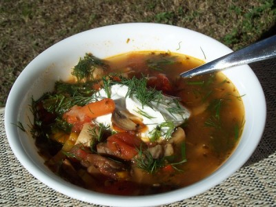 Суп из свежих опят - пошаговый рецепт с фото на Повар.ру