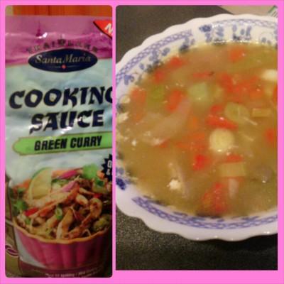 рецепт тайского супа том кха с креветками