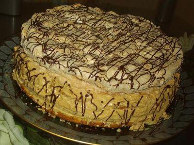 Приготовление торта онлайн выпечка