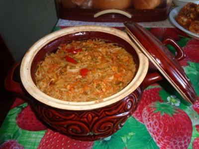 рецепты в большом глиняном горшке в духовке