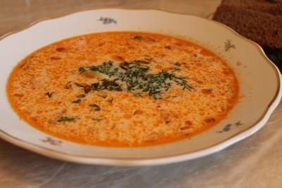 Суп из красной рыбы в мультиварке рецепты