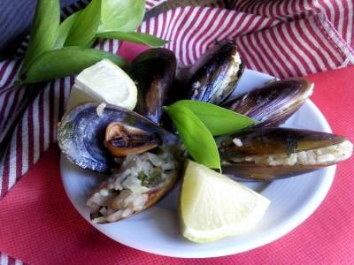 Midye Dolmasi или долма из мидий (турецкая кухня) : Рыбные ...