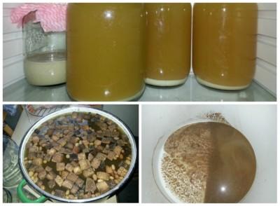 рецепт браги из сухарей