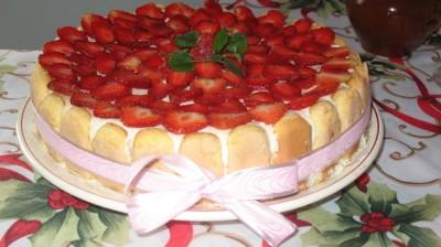 Тирамису торт с печеньем