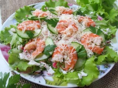 Салат для диеты дюкана