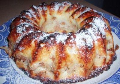 Рецепт творожной шарлотки с фото пошагово