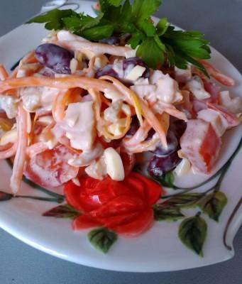 копченая грудка салаты