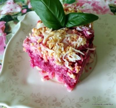 диетическая шуба салат