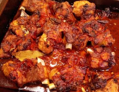 Вторые блюда из свиных ребрышек рецепты 168