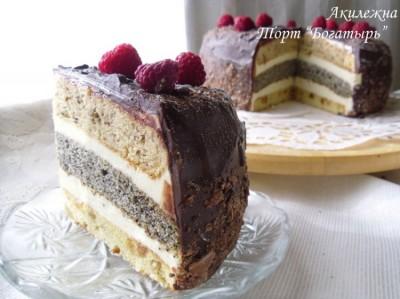 торт 3 богатыря рецепт
