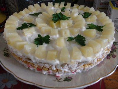салат чудо слойка фото рецепт